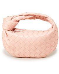 Bottega Veneta Mini Hobo Bag 'Mini Jodie' Rosé - Pink