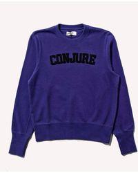 Wales Bonner - Conjure Varsity Sweatshirt - Lyst