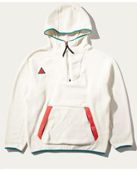 9a6163cbab5b Lyst - Nike Acg Hooded Sweatshirt in White for Men