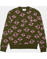 Acne Studios Faise Planets Sweatshirt