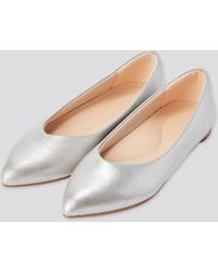 Uniqlo Zapatos Planos Confort - Blanco