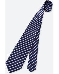 Uniqlo - Men Striped Silk Tie - Lyst