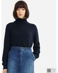Uniqlo - Women U Melange Turtleneck Sweater - Lyst