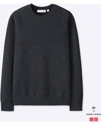 Uniqlo - Men Cashmere Crewneck Long-sleeve Sweater - Lyst