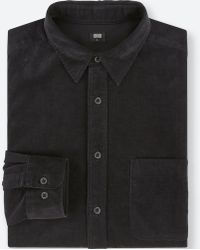 Uniqlo - Corduroy Regular Fit Shirt (regular Collar) - Lyst