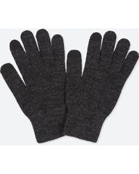 Uniqlo - Heattech Knitted Gloves - Lyst