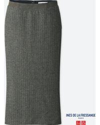 Uniqlo - Women Soft Tweed Skirt (ines De La Fressange) - Lyst