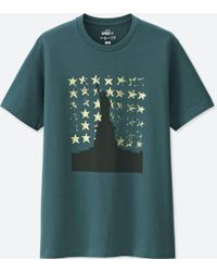 fa8faf9dc1cffc Lyst - Uniqlo Men Mickey Art Short-sleeve Graphic T-shirt (andy ...