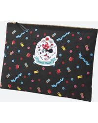 Uniqlo - Women Disney (minnie Mouse Loves Dots) Clutch Bag - Lyst