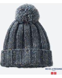 Uniqlo - Women Knitted Beanie (ines De La Fressange) - Lyst