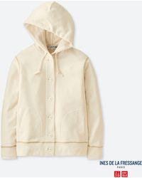 Uniqlo - Women French Terry Long-sleeve Hooded Jacket (ines De La Fressange) - Lyst