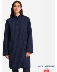 Uniqlo - Women Quilted Long Coat (ines De La Fressange) - Lyst