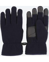 Uniqlo - Men Heattech-lined Fleece Gloves - Lyst