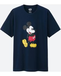 Uniqlo - Mickey Stands Short Sleeve Graphic T-shirt - Lyst