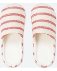 Uniqlo - Patterned Slippers - Lyst