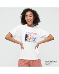 Uniqlo Roy Lichtenstein UT Camiseta Gráfica - Blanco