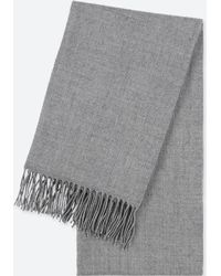 Uniqlo - Heattech Fringed Scarf - Lyst