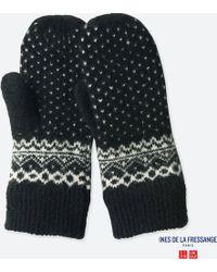 Uniqlo - Women Idlf Knitted Mittens - Lyst