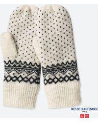 Uniqlo | Women Idlf Knitted Mittens | Lyst