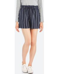 Uniqlo - Women Cotton Linen Relaxed Shorts - Lyst