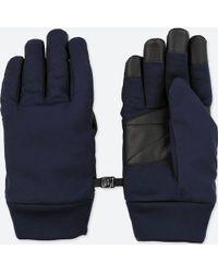 Uniqlo - Men Heattech Lining Function Gloves - Lyst