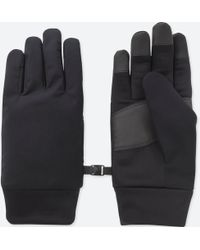 Uniqlo - Men Heattech-lined Function Gloves - Lyst