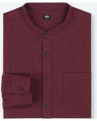 Uniqlo - Men Flannel Long-sleeve Shirt - Lyst