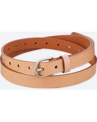 Uniqlo - Women Vintage Skinny Belt - Lyst