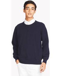 Uniqlo - Crew Neck Long Sleeved Sweatshirt - Lyst
