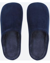 Uniqlo - Corduroy Slippers - Lyst