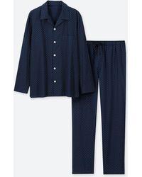 Uniqlo - Long Sleeved Pyjamas - Lyst