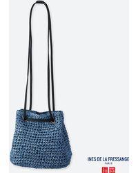 e428d88d67 Lyst - Uniqlo Women Enamel Shoulder Bag (ines De La Fressange) in Black