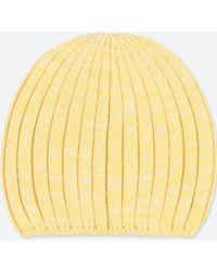 e365d19e3f844 Uniqlo - Heattech Knitted Beanie Hat - Lyst
