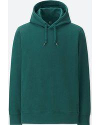 Uniqlo - Men Long-sleeve Hooded Sweatshirt - Lyst