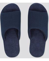 Uniqlo Zapatillas Casa Abiertas (Suela de goma) - Azul