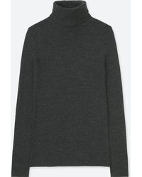 Uniqlo - Women Extra Fine Merino Turtleneck Sweater - Lyst