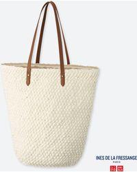 b714ccdddc8a Uniqlo - Women Crochet Tote Bag (ines De La Fressange) - Lyst