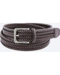 Uniqlo - Men Leather Stretch Mesh Belt - Lyst