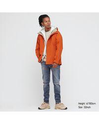 Uniqlo Vaquero UltraElàstico Skinny Fit - Naranja