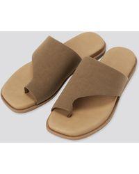 Uniqlo - Sandalen mit Zehenriemen - Lyst