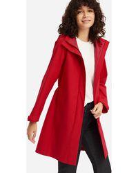 79b5e80fefea8 Lyst - Uniqlo Women Blocktech Coat in Green - Save 41%