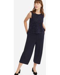 Uniqlo - Women Lace Jumpsuit (online Exclusive) - Lyst