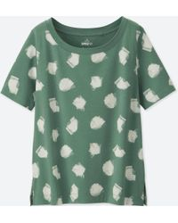 Uniqlo - Women Sprz Ny Short-sleeve Graphic T-shirt (niko Luoma) - Lyst