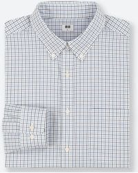 Uniqlo - Men Extra Fine Cotton Broadcloth Long-sleeve Shirt - Lyst