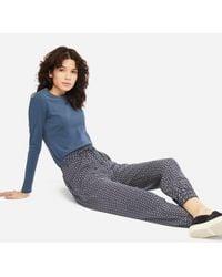 Uniqlo - Women Geometric-print Drape Jogger Pants - Lyst