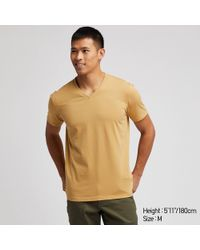 39755535725d Lyst - Uniqlo Men Supima® Cotton Crew Neck Short-sleeve T-shirt in ...