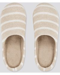 Uniqlo Zapatillas Casa Rayas (Suela de goma) - Neutro
