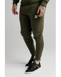 SIKSILK Muscle Fit Jogger - Green