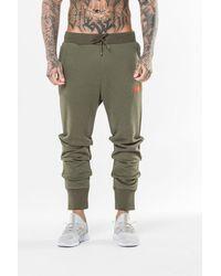 PUMA Knitted Sweat Pants - Green
