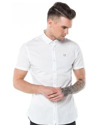 11 Degrees - Short Sleeve Shirt - Lyst